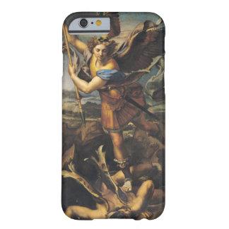 San Miguel que abruma al demonio, 1518 Funda De iPhone 6 Barely There