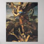 San Miguel que abruma al demonio, 1518 Posters