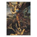 San Miguel que abruma al demonio, 1518 Felicitaciones
