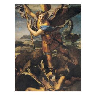 San Miguel que abruma al demonio, 1518 Postal