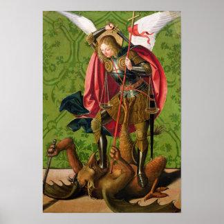 San Miguel que mata al dragón Poster