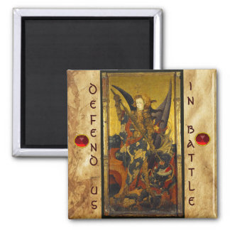 San Miguel que vence al diablo Imán De Frigorífico