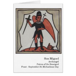 San Miguel Santo Card