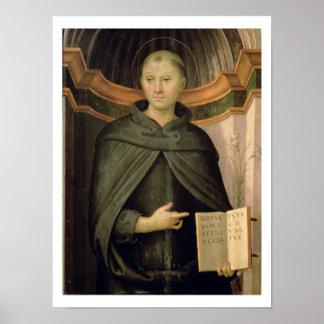 San Nicolás de Tolentino (el panel) Póster