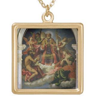 San Nicolás en gloria con los santos Joyeria Personalizada