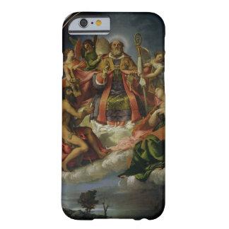 San Nicolás en gloria con los santos Funda Para iPhone 6 Barely There