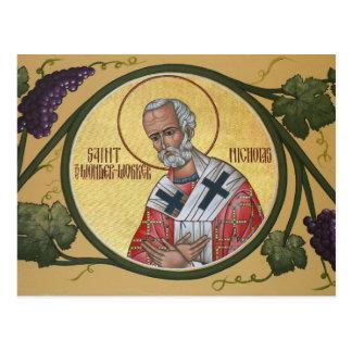 San Nicolás la tarjeta del rezo del Maravilla-Trab Postal