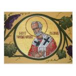 San Nicolás la tarjeta del rezo del Postales