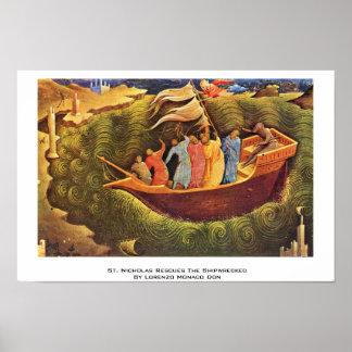 San Nicolás rescata naufragado Póster