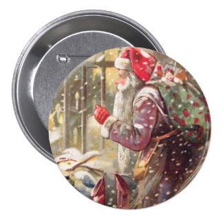 San Nicolás viejo con los regalos en botón del