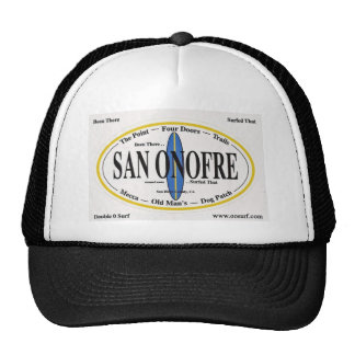 San Onofre - 'ESTADO ALLÍ--THAT PRACTICADO SURF Gorros Bordados