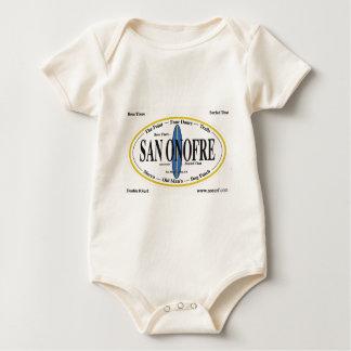 San Onofre - 'ESTADO ALLÍ--THAT PRACTICADO SURF Mamelucos De Bebé