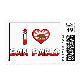 San Pablo, CA Stamps