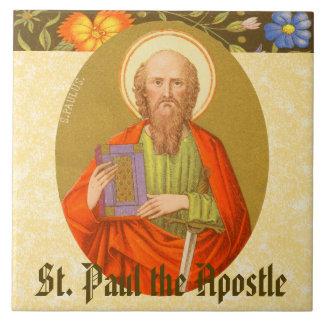 San Pablo el apóstol (P.M. 06a) Azulejo Cuadrado Grande