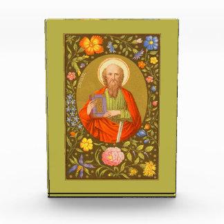 San Pablo la placa vertical #1 del apóstol (P.M.