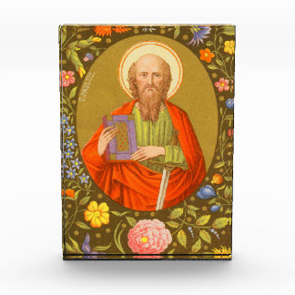 San Pablo la placa vertical #2 del apóstol (P.M.