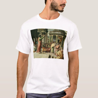 San Pablo que predica en Atenas (dibujo animado Playera