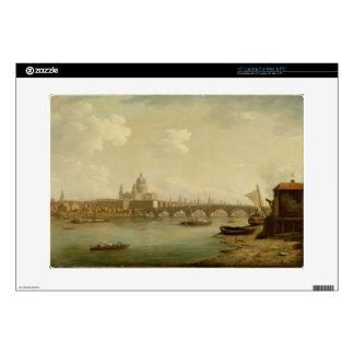 San Pablo y puente de Blackfriars, Londres, c.1770 38,1cm Portátil Calcomanía