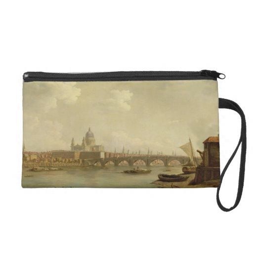 San Pablo y puente de Blackfriars, Londres, c.1770