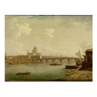 San Pablo y puente de Blackfriars, Londres, Postal