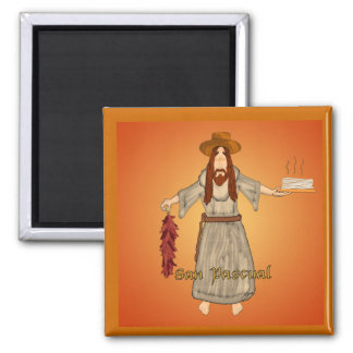 San Pascual 2 Inch Square Magnet