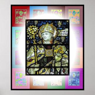 San Patricio joven Impresiones