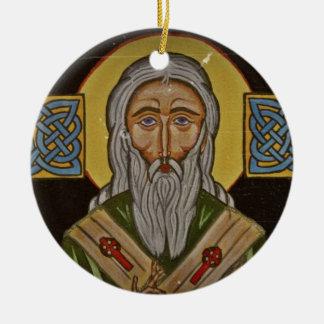 San Patricio la cruz céltica Ornato