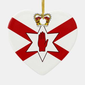 San Patricio para Irlanda del Norte coronó la band Ornamentos De Navidad