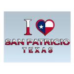 San Patricio, Tejas Postales