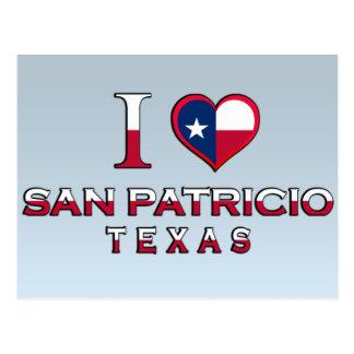 San Patricio, Texas Postcard