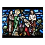 San Patricio y sus seguidores Tarjetas Postales