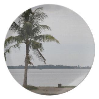 San Pedro Bay Melamine Plate