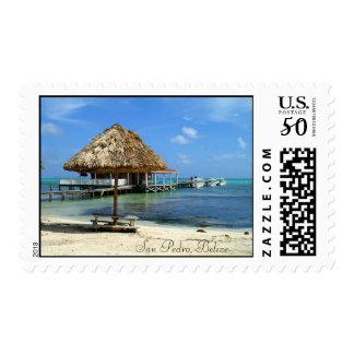 San Pedro, Belize Postage