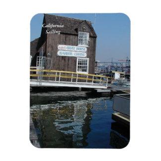 San Pedro Boat_House Magnet