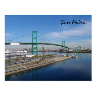 San Pedro, California Postcard