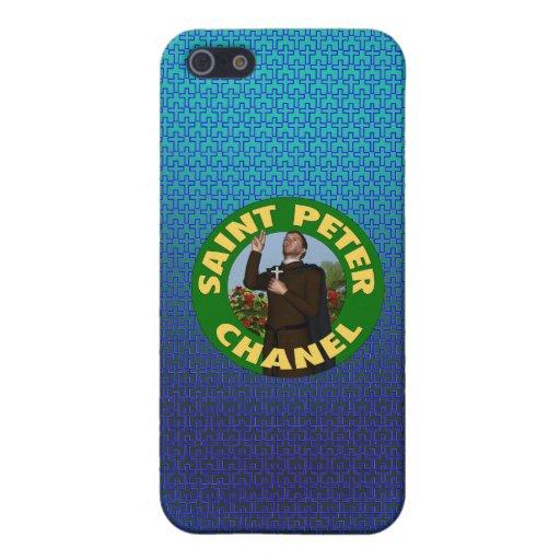 San Pedro Chanel iPhone 5 Carcasa