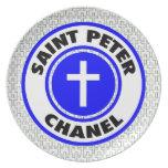 San Pedro Chanel Plato De Comida