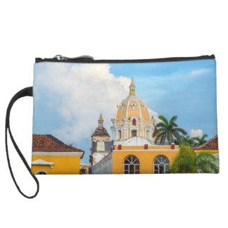 San Pedro Church Dome Wristlet Wallet