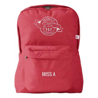 San Pedro Co-Op Nursery School 60th anniversary American Apparel™ Backpack