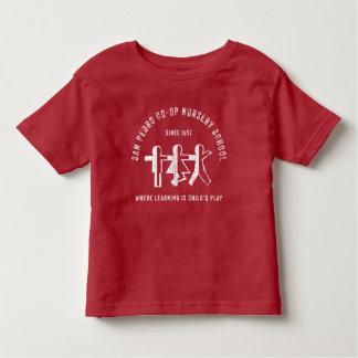 San Pedro Co-Op Nursery School Red Student T-Shirt