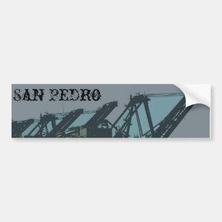 San Pedro Cranes a la pegatina para el parachoques Pegatina Para Auto
