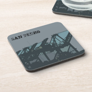 San Pedro Cranes Coasters