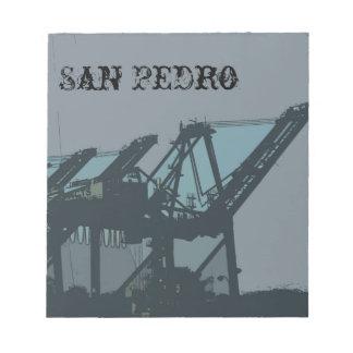 San Pedro Cranes la libreta Bloc De Papel