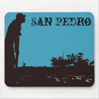 San Pedro Fisherman Mousepad