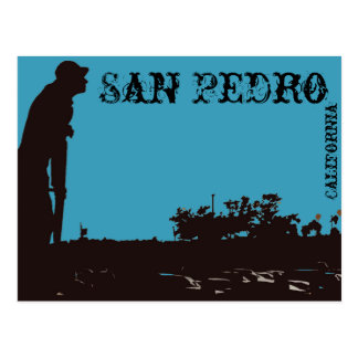 San Pedro Fisherman Postcard