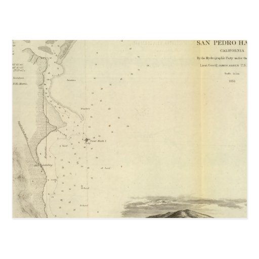 San Pedro Harbor, Calif Post Cards