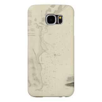 San Pedro Harbor, Calif Samsung Galaxy S6 Case
