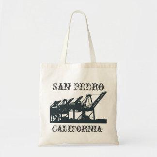San Pedro Harbor Cranes Bag