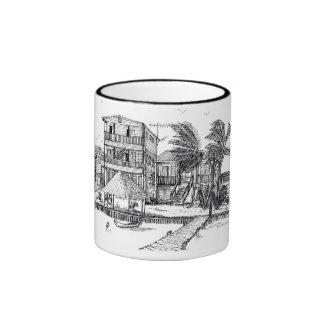 San Pedro Holiday Hotel Ringer Coffee Mug