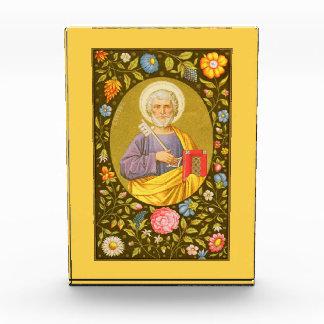 San Pedro la placa vertical #1 del apóstol (P.M.